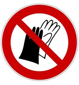 Panneau port de gants...